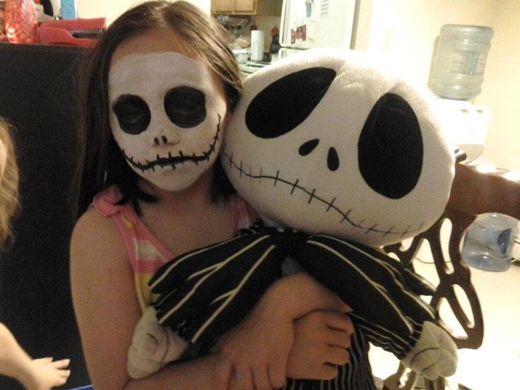Jack Skellington Face Paint Halloween Pinterest