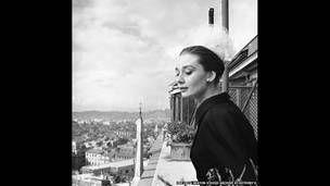 Одри Хепбёрн в Риме, фото Сесил Битон (1960 ©The Cecil Beaton Studio Archive at Sotheby's)