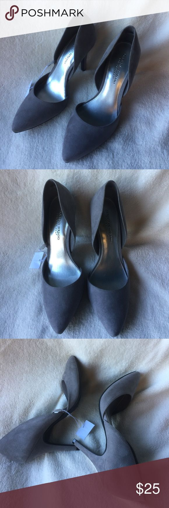 Christian Siriano Grey Pump Womens Shoes Size 8.5 Brand new, never used, size 8.5 and 3 inches heel Christian Siriano Shoes Heels