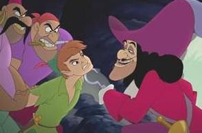 *PIRATE's, PETER & CAPTAIN HOOK ~ Peter Pan, 1953
