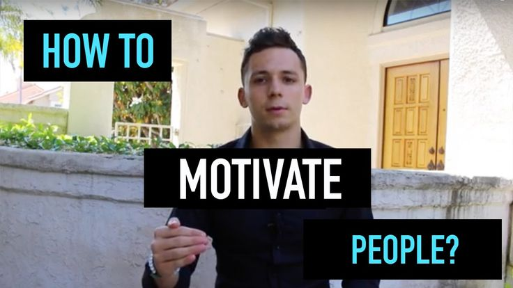How to Motivate People to Work Harder?