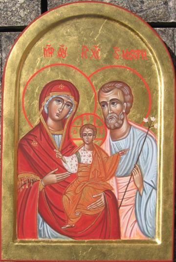 La Sacra Famiglia -per mano di Cristina Capella  www.mirabileydio.it