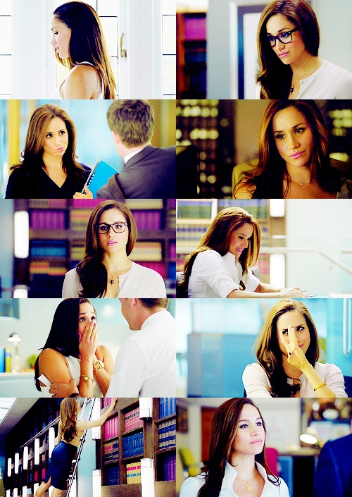 rachel zane. Why we lesbians watch The Suits. (cuz you say the infront of words that don't need it.) lol