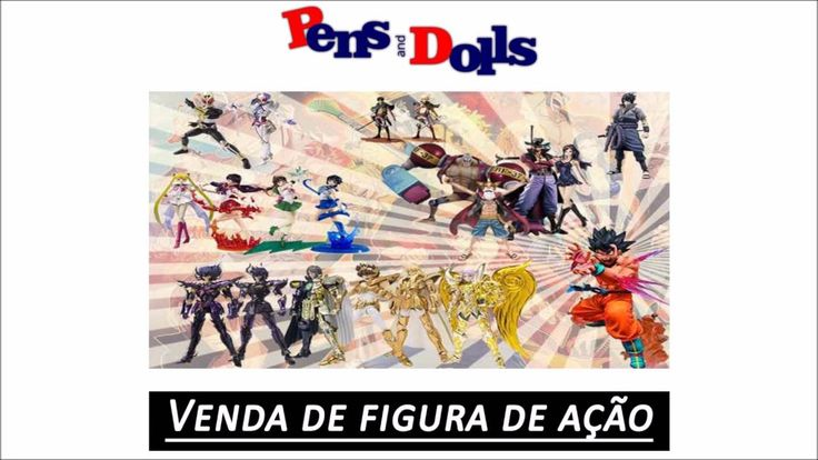 Venda de figura de ação - Pens and Dolls