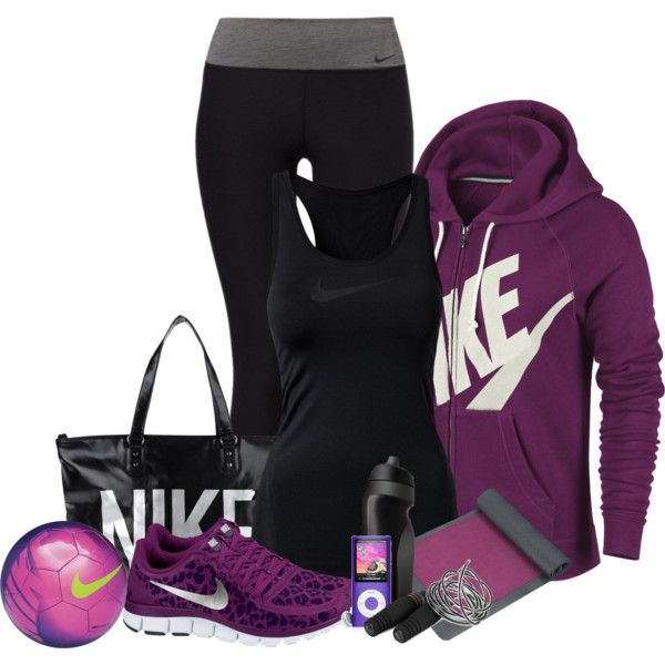 """Exercising"" by lulurose98 on Polyvore - might need this outfit for when I start exercising after the baby."