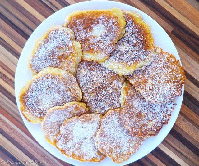 Pancakes cu mere | Pasiunile Mihaelei
