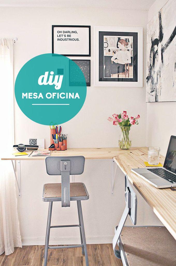Traemos ideas diy para renovar tu oficina y que la vuelta for Como construir una oficina
