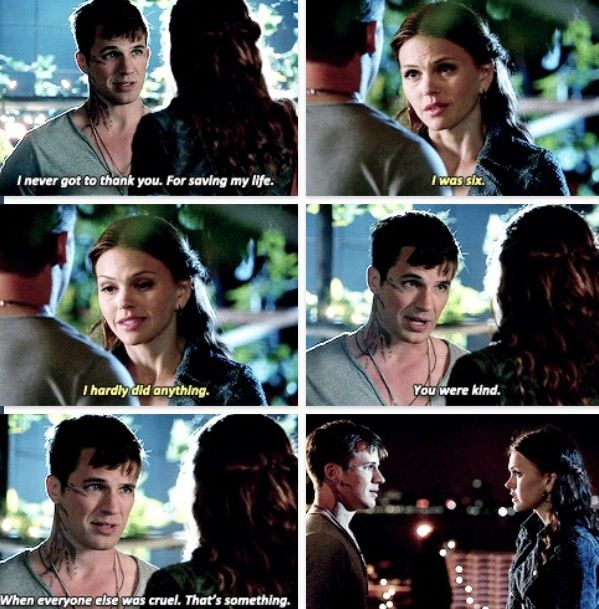 Star Crossed - Emery & Roman.  Miss this show!