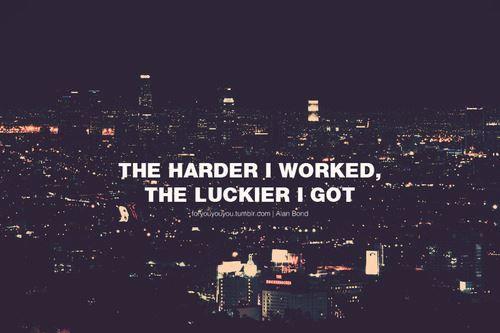 La fortuna...