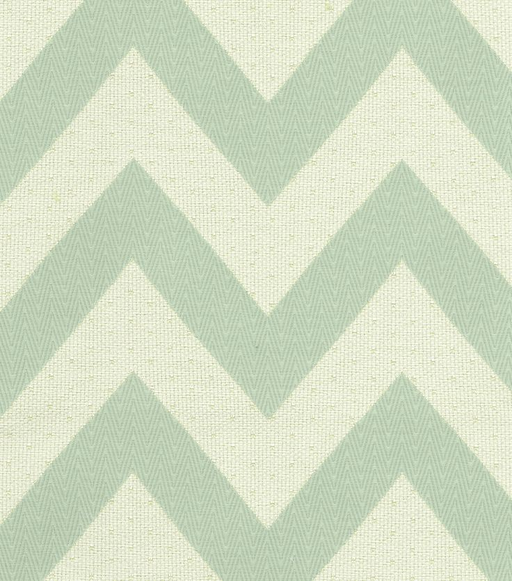 Upholstery Fabric  HGTV HOME Chevron Chic Glacier