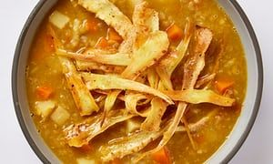 Meera Sodha's vegan recipe for parsnip and carrot mulligatawny soup   Life and style   The Guardian