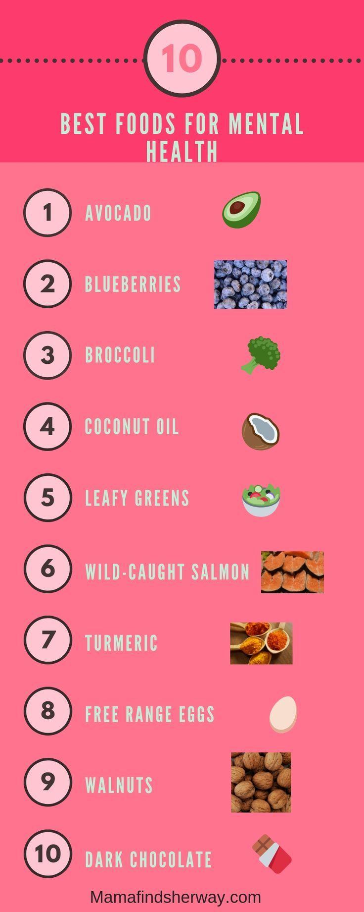 10 besten Lebensmittel für eine optimale psychische Gesundheit