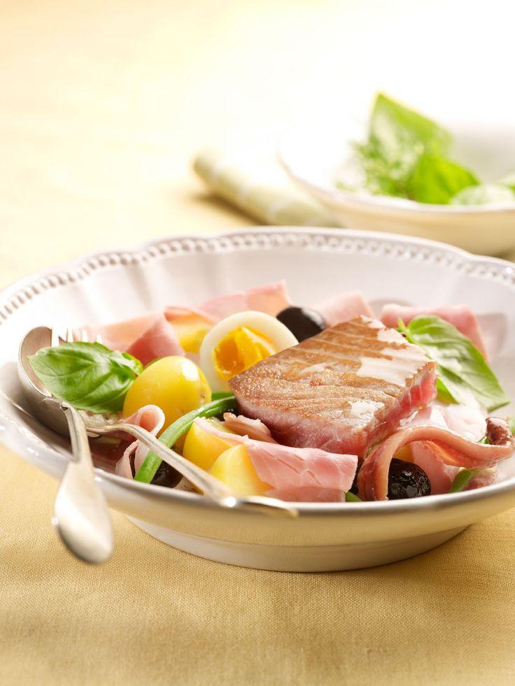 Salade Niçoise met Meesterlyck-ham