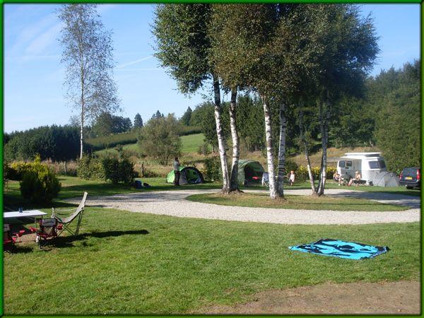 Camping Anderegg - tip van Nel en Claire en co - in puntje van de Ardennen