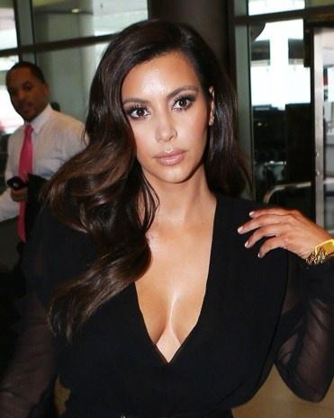 kim kardashian colors and curls on pinterest