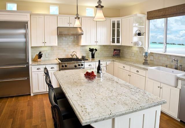 Moonlight Prefab Granite Countertop In 2020 Granite Countertops Kitchen White Granite Countertops Outdoor Kitchen Countertops