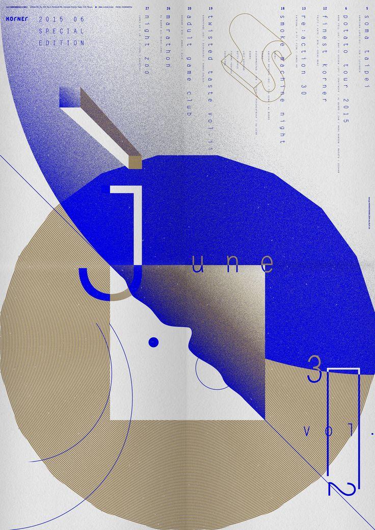 Korner No.32 front issue ﹣ design by Hung Chang Lien aka Elf-19