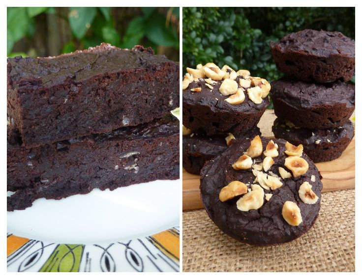 Black Bean Brownie pair