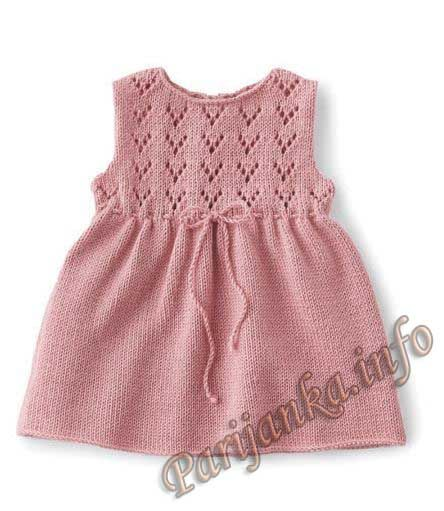 Платье (д) 22*93 Phildar №3662