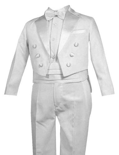 $30 New Ring Bearer Boys Tuxedo Tail WHITE Suit Tux Set From Baby to Teen (X-Large (18-24 months)) Gino Giovanni,http://www.amazon.com/dp/B001L7ZWZO/ref=cm_sw_r_pi_dp_wyC4sb124SPHJYQF