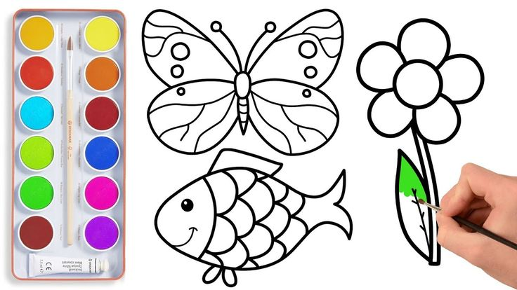 how to draw a easy butterfly step by step