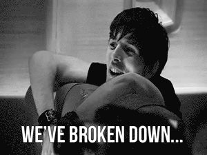 IN THE MIDDLE OF NOWHERE! Oh Jethro (aka Merlin)! I think this is one of my favorite gifs!