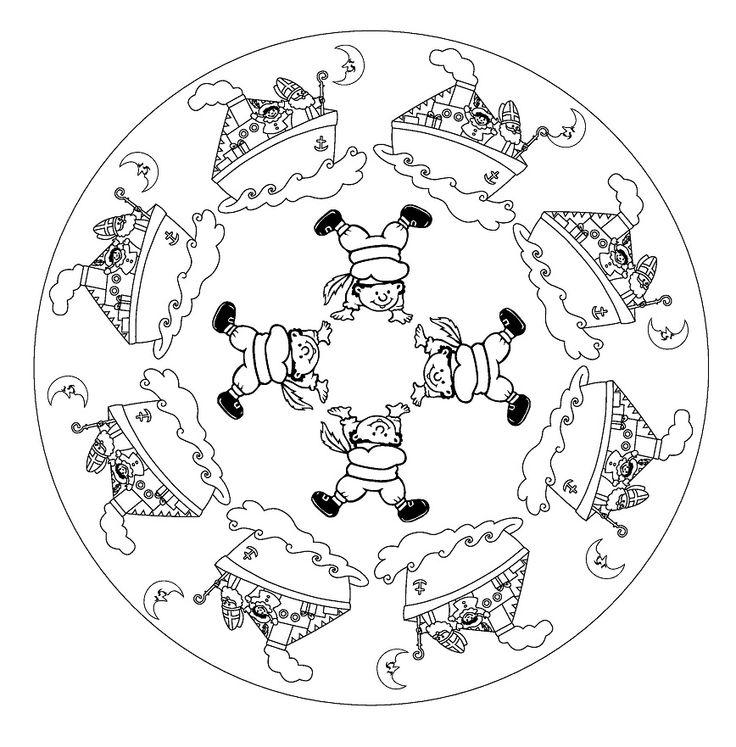 * Mandala: Boot en Pieten!