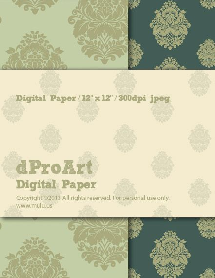 Baroque 07 Digital Paper,Instant JPEGs Download