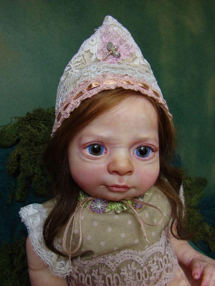 Reborn  Reborn baby fairy PROTOTYPE ~ JASPER~ Fairy FANTASY REALBORN RENDITIONS