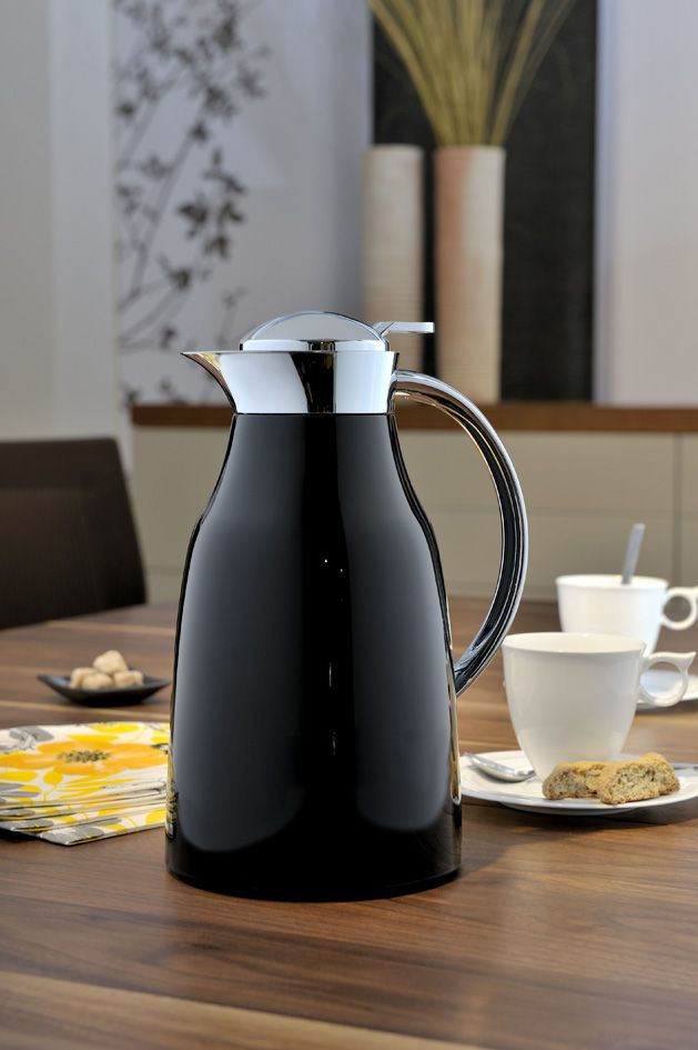 NEW Glory Alfi Carafe: This carafe is ideal for serving your favorite beverages in style, both indoors and outdoors. They don't only look beautiful, but they also keep your hot beverages hot for up to 12 hours and cold beverages cold for up to 24 hours. Perfect for entertaining or just relaxing on the porch or boat sipping on you favorite drink! Available in Ivory and Red as well! Made in Germany! Visit WMFAmericas.com for more information!