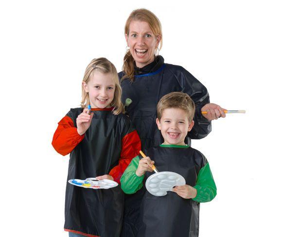 Malkittel für Kinder  12 Jahren und/oder Erwachsene Gr. XL hochwertig