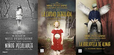 Amante de Libros: Saga Miss Peregrine y los niños peculiares - Ranso...
