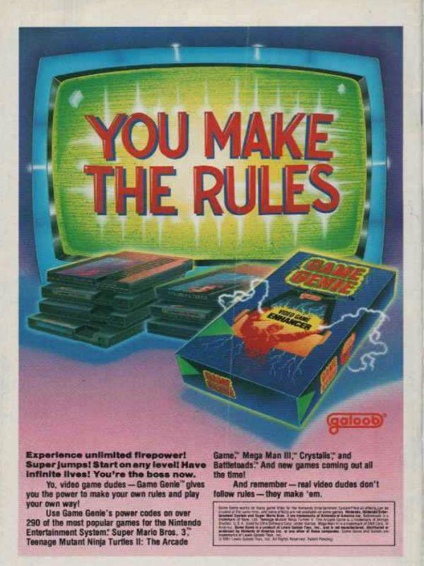 Nintendo Nostalgia The Game Genie The Retro Network Classic