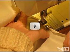Using a rolled hem foot ~ video