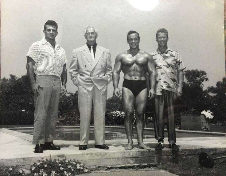 vintagemales:  Vince Gironda, Unknown, George Eiferman & Russ Warner