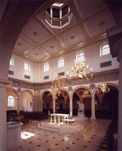 Brentwood Cathedral, Essex, England. I haven't been to this Cathedral, but I would love to in the future.