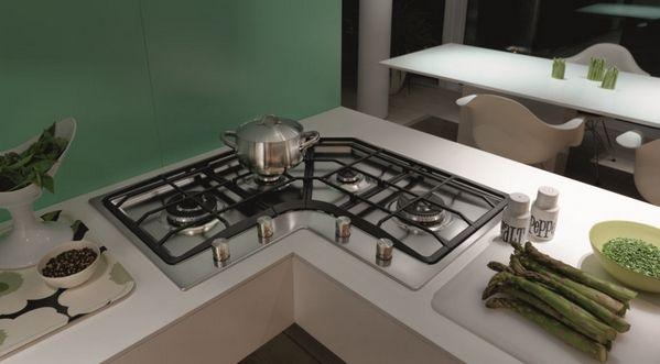 угловая плита для кухни
