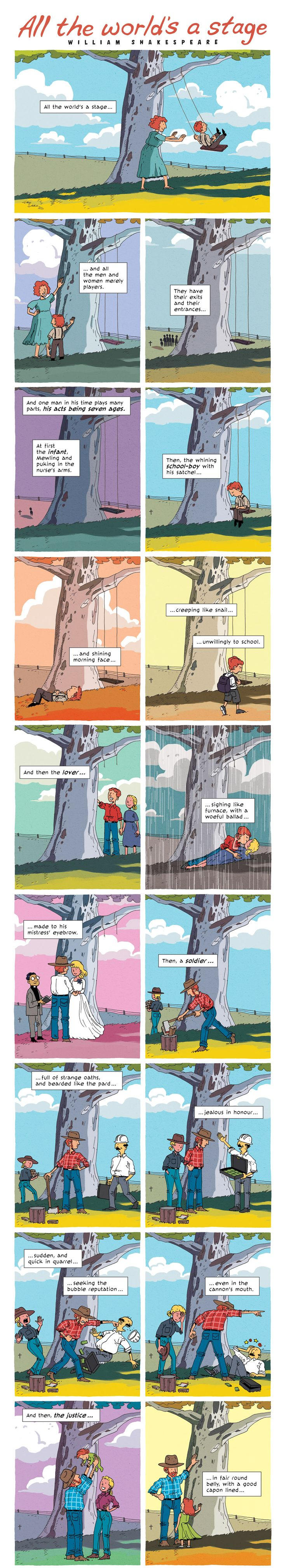 A favourite passage, rendered beautifully and heart-wrenchingly. If you haven't read Zen Pencils, today is a perfect day to start.