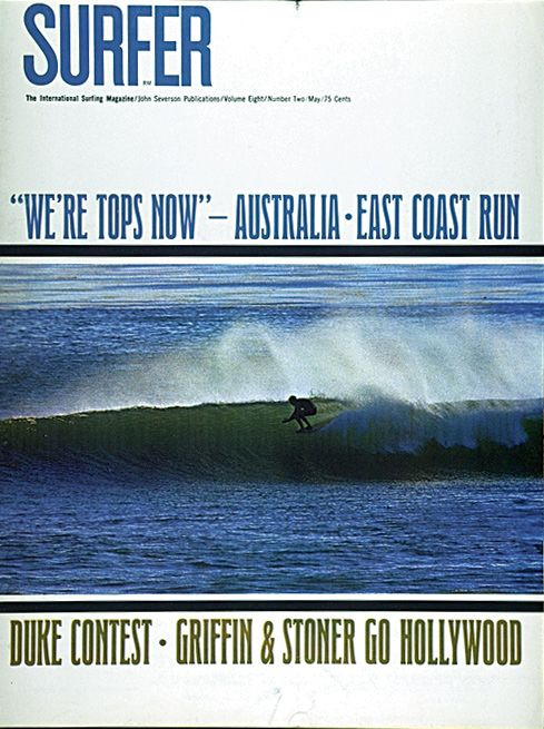surfer mag cover 1967