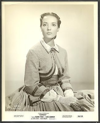 Anna Kashfi Original 1950s Portrait Photo Cowboy Western Mrs. Marlon Brando