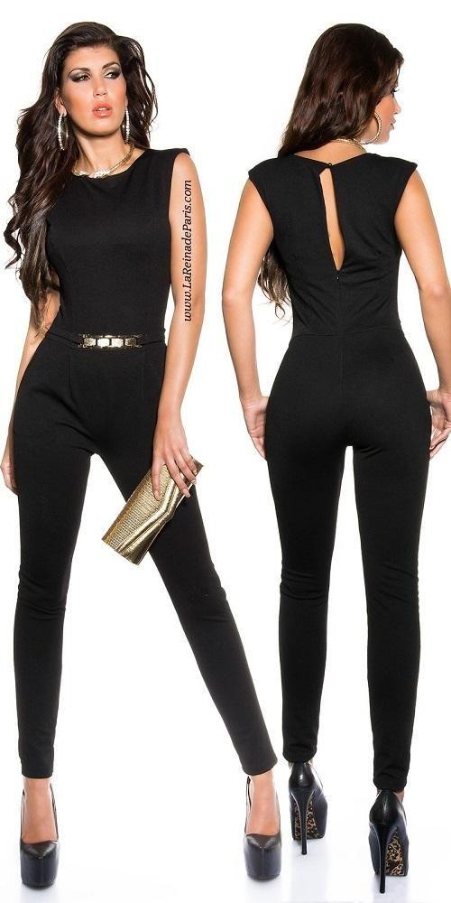 Enterizo de moda elegante Jacklyn negro [0]