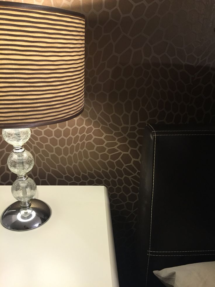 Rasch honeycomb snakeskin wallpaper