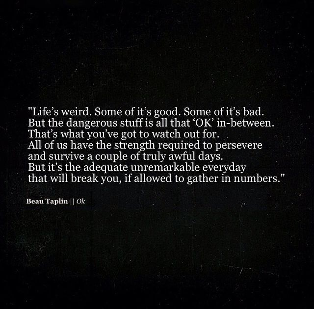 The inspirational Beau Taplin #quote...