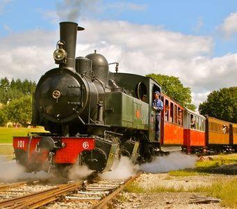 Velay Express à Raucoules : Aller-retour en train vapeur: #RAUCOULES 8.50€ au lieu de 15.50€ (45% de réduction)