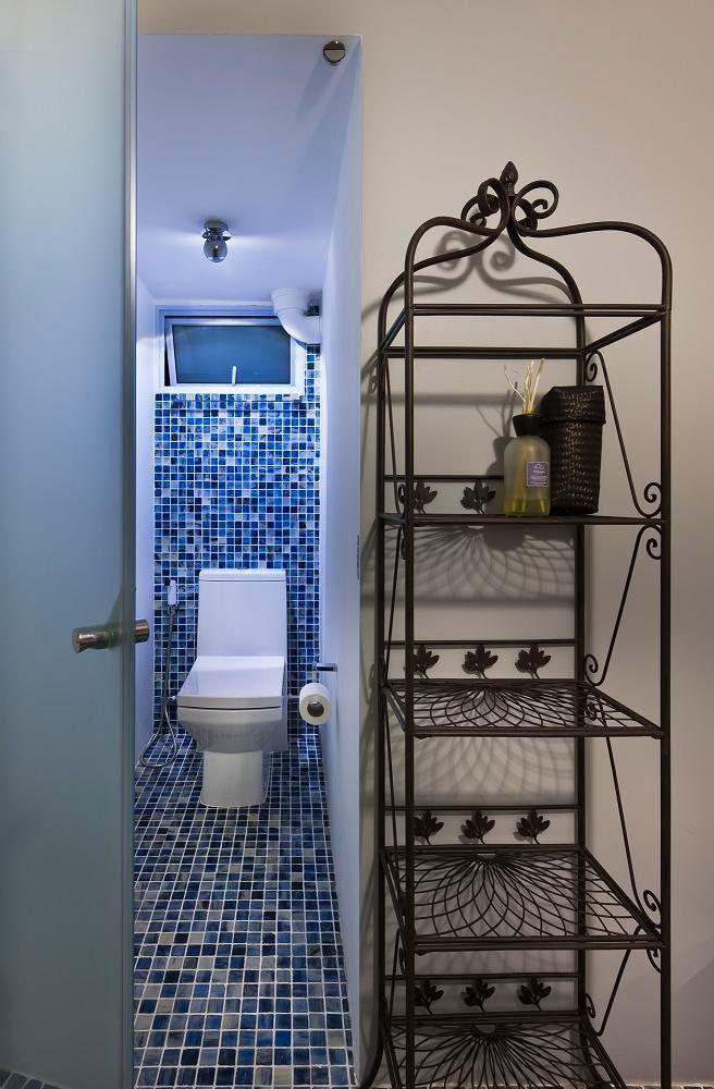 mosaic toilet..