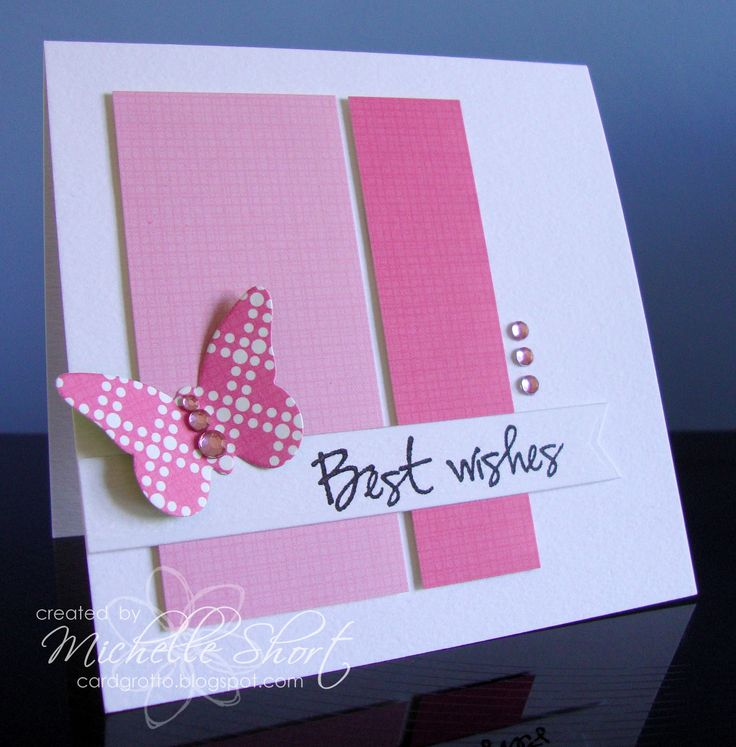 This would be so fast, easy, and I could use up paper scraps. :)
