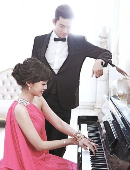 Ok Taec Yeon & Gui Gui on We Got Married Global (Wedding Shots) ♥