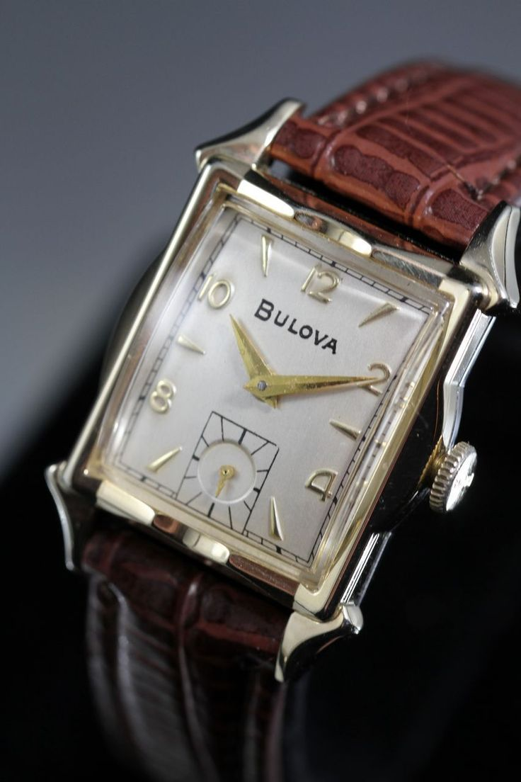 Bulova Ambassador Vintage Men's Watch 1954 from vintagewatches on Ruby Lane