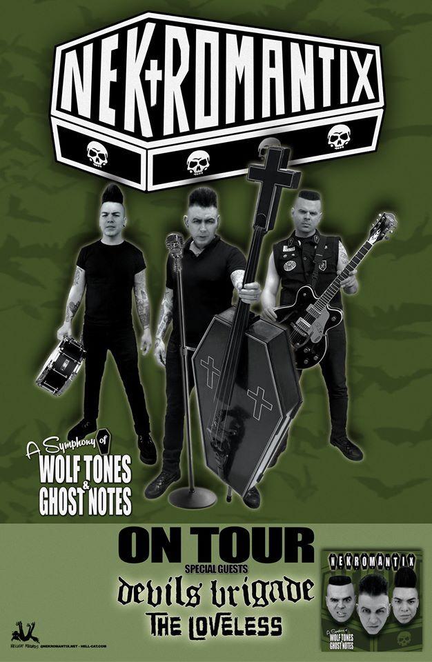 Nekromantix announce Fall Tour dates #nekromantix #NekromantixOnTour #DevilsBrigade #TheLoveless