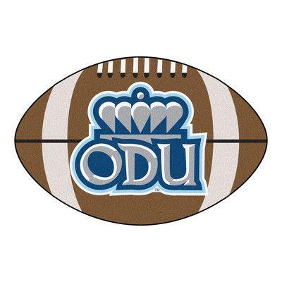 FANMATS NCAA Old Dominion University Football Mat